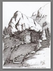 Cabaña refugio ( Pirineos)