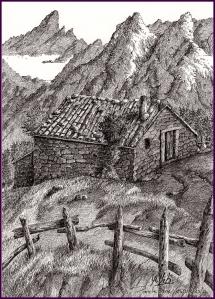 cabaña en pandebano