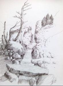 Camino de los Ibones de llosas