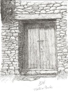 Puerta en Anciles