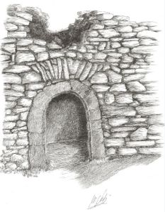 puerta en ermita de S. Aventin