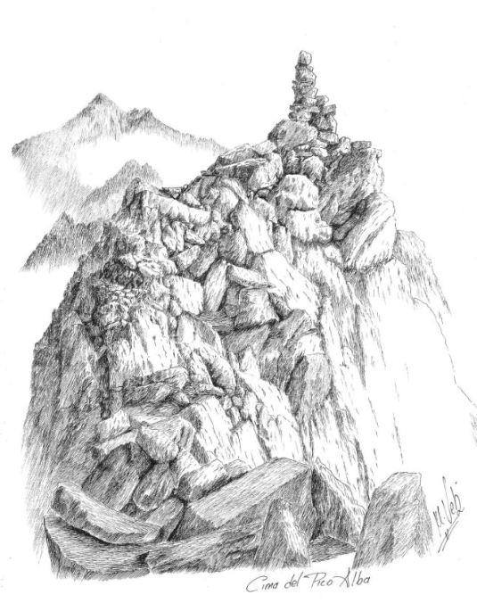 Cima del Pico Alba