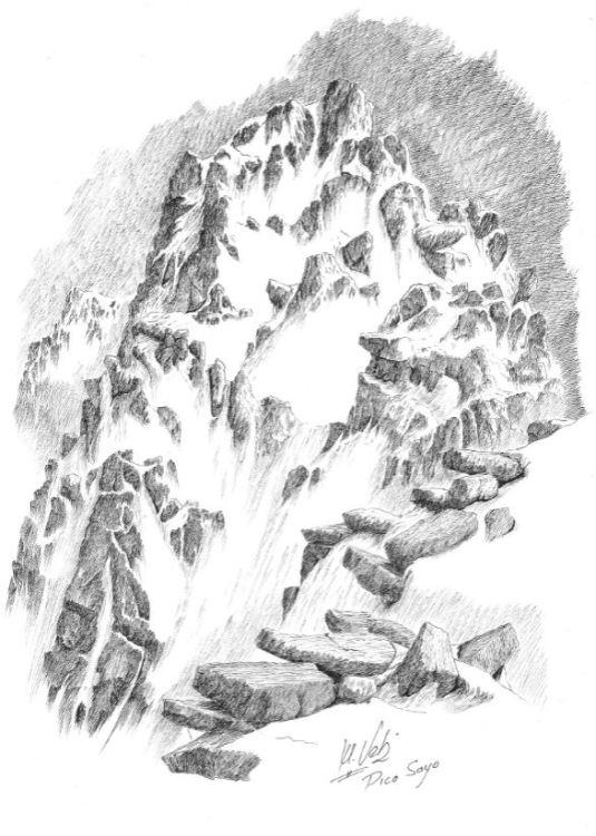 Pico Sayo invierno