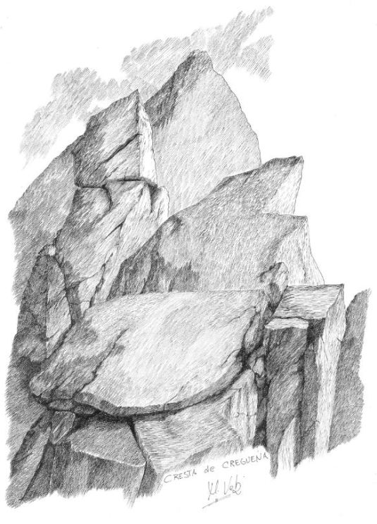 Cresta de Cregueña