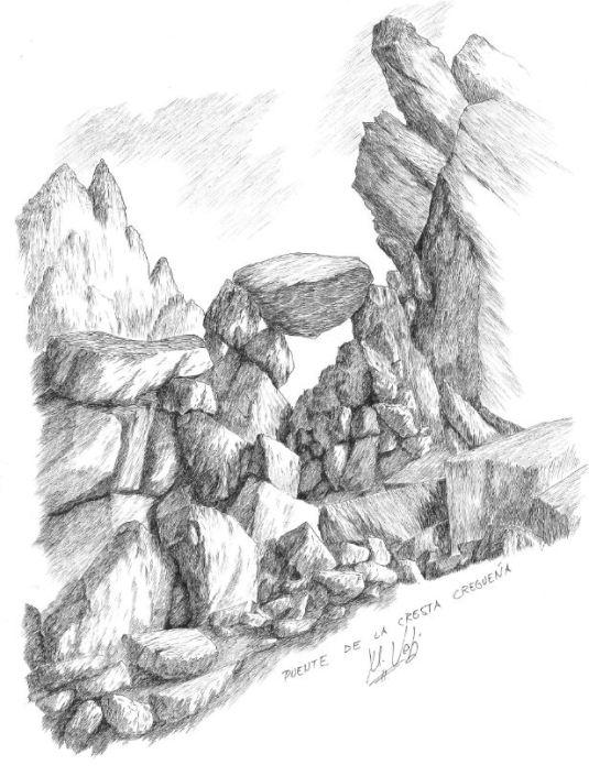 Puente en la Cresta Cregueña