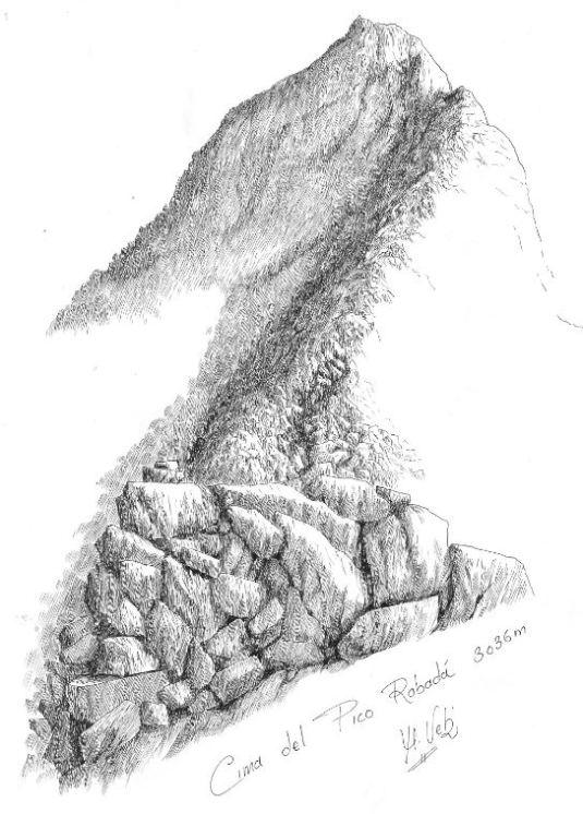 Cima del Pico Rabada