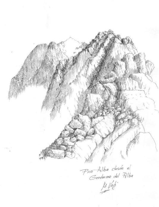 Pico del Alba desde el gendarme