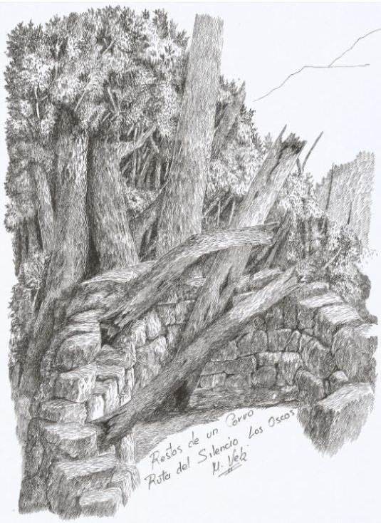 restos-de-un-corro-en-la-ruta-del-silencio-oscos