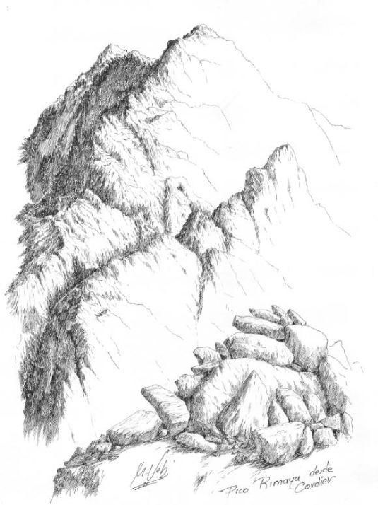 Pico Rimaya desde Cordier