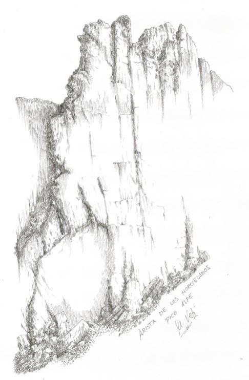 Arista de los Murcielagos-Aspe