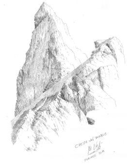 Cresta del Diablo1 recorrido