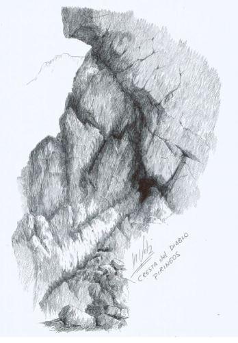 Cresta del Diablo3. recorrido